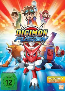 Digimon Fusion - Volume 1; Episode 01-15