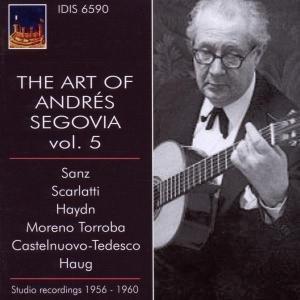 Die Kunst des Andres Segovia Vol.5