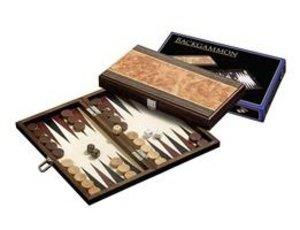Philos Spiele 1179 - Backgammon Korfu, klein, Kassette