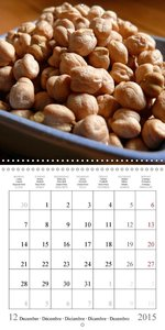 Appetizing Food (Wall Calendar 2015 300 × 300 mm Square)
