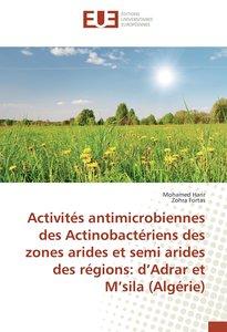 Activités antimicrobiennes des Actinobactériens des zones arides