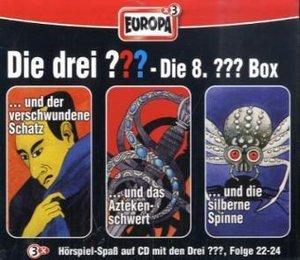 Die drei ??? Box 08. Folgen 22-24 (drei Fragezeichen). 3 CDs