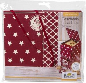 Geschenkschachteln - Sterne