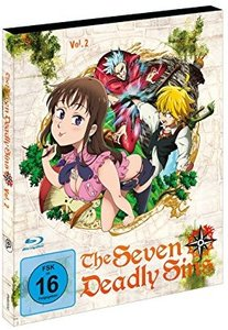 The Seven Deadly Sins - Blu-ray 2 - Episoden 8-12