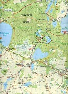 Plau am See, Malchow, Krakow am See und Umgebung Radwander- und