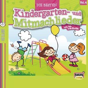 Die besten Kindergarten-und Mitmachlieder,Vol.4: