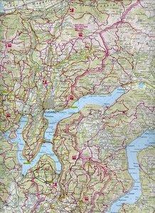 KuF Tessin / Ticino 1 : 120 000. Holiday Map