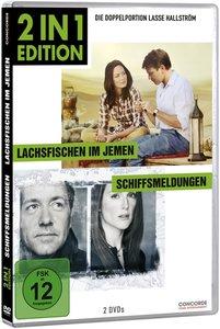 2 in 1 Edition: Lachsfischen im Jemen/Schi (DVD)