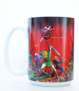 Zelda - Ocarina of Time - Tasse 320ml (Rot)