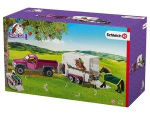 Schleich 42346 Pick-up mit Pferdeanhänger