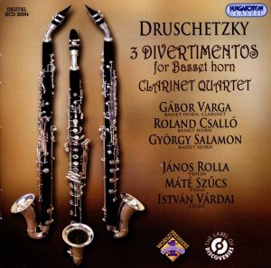 Divertimenti für Bassetthörner/Klarinettenquartett