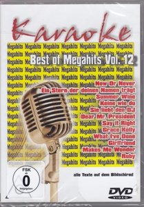 Best Of Megahits Vol.12-Karaoke DVD