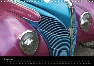 Classic Cars (UK-Version) (Wall Calendar 2016 DIN A4 Landscape)