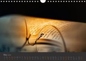 Ars Poetica - Illuminated Pages (Wall Calendar 2015 DIN A4 Lands