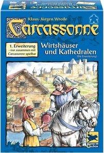 Carcassonne. Wirtshäuser & Kathedralen (Die Erweiterung)