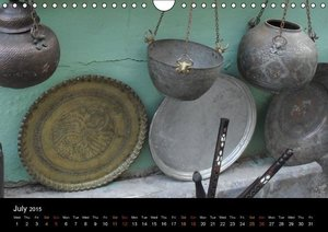 Bazars - A Whiff of Orient (Wall Calendar 2015 DIN A4 Landscape)