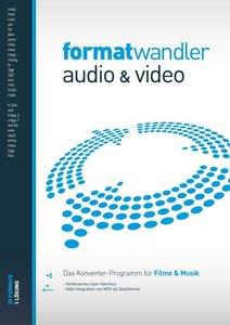 Formatwandler Audio & Video - Das Konverter-Programm für Filme &