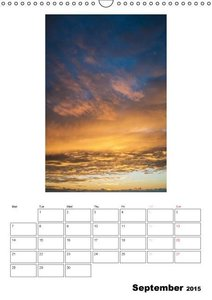 Relaxation - Organizer / UK-Version (Wall Calendar 2015 DIN A3 P