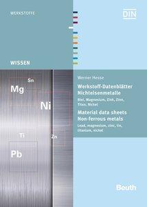 Werkstoff-Datenblätter - Nichteisenmetalle