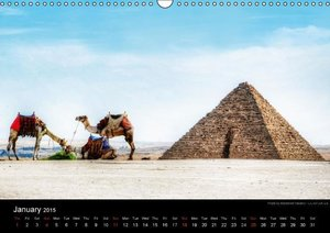 Monuments of Egypt 2015 (Wall Calendar 2015 DIN A3 Landscape)