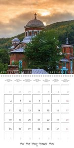 Anina Mountains (Wall Calendar 2015 300 × 300 mm Square)