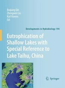 Eutrophication of Shallow Lakes with Special Reference to Lake T
