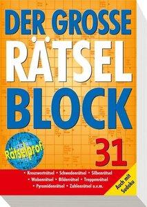 Der große Rätselblock 31