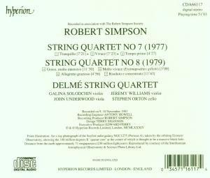 Streichquartette 7+8
