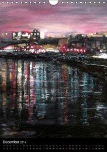 Glasgow in Oils (Wall Calendar 2015 DIN A4 Portrait)