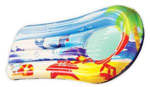 Splash & Fun Kindermatratze Beach Fun+Sichtfenster