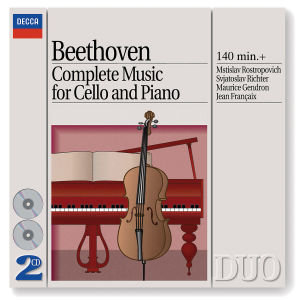 Sämtliche Cellosonaten 1-5 (GA)
