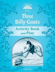 The Three Billy Goats Gruff Activity Book & Play