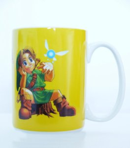 Zelda - Ocarina of Time - Tasse 320ml (Gelb)