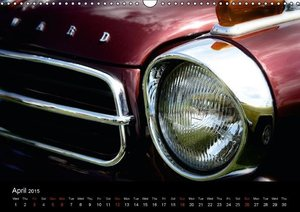 Made in Germany - Classic Cars / UK-Version (Wall Calendar 2015