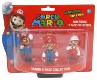 Super Mario Bros. Geschenkbox mit 3 Figuren Mario Edition 6 cm - zum Schließen ins Bild klicken