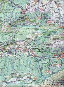 KuF Italien Outdoorkarte 04 Gröden, Seiseralm-Schlern 1 : 35.000