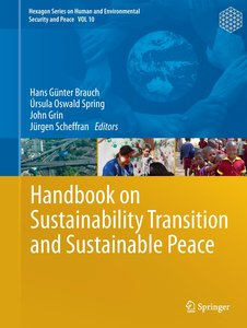 Handbook of Sustainability Transition and Sustainable Peace