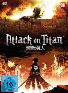 Attack on Titan - DVD 1 + Sammelschuber (Limited Edition)