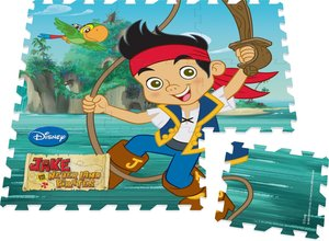 Jumbo 17363 - Disney Jake & The Neverland Pirates - Mega großes