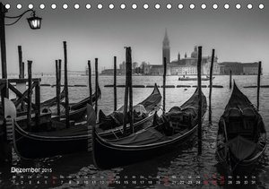 Utz, C: Venedig - Licht und Schatten (Tischkalender 2015 DIN
