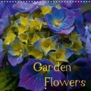 Garden Flowers (Wall Calendar 2015 300 × 300 mm Square)