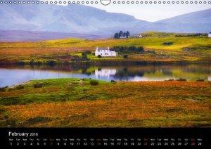 "Scotland - Mirror of the Soul ""UK-Version"" (Wall Calendar 2016 D"