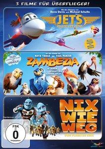 Überflieger-Box - 3 Filme für Überflieger (Zambezia, Jets, Nix w