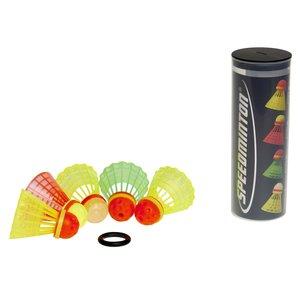 Speedminton - Speeder Tube Mixpack, Ersatzbälle, 5er Sortiment