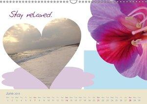 Start to Think Positive (Wall Calendar 2015 DIN A3 Landscape)