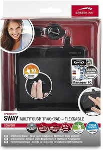 Speedlink SL-6331-BK SWAY Multitouch Trackpad - Flexcable, schwa
