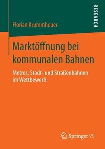 Marktöffnung bei kommunalen Bahnen