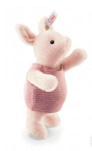 Steiff 354878 - Ferkel, rose, 13 cm