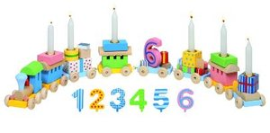 Geburtstagszug, Lok mit 7 Anhängern
