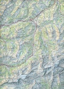 Swisstopo 1 : 100 000 Col du Pillon